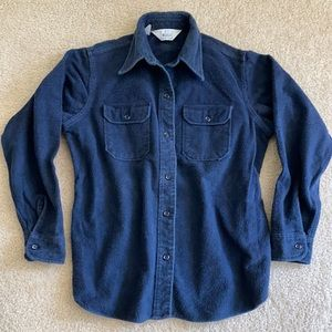 Woolrich Vintage Brushed Flannel Button Shirt